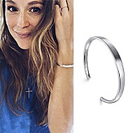 May 2020 Actress Alexa PenaVega sharing the 91>19 Bangle