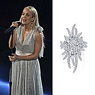 December 2019 Singer Carrie Underwood wearing Gabriel & Co while performing at the 42nd Annual Kennedy Center Honors