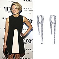 August 2019 Actress Celia Keenan-Bolger wearing Gabriel & Co while attending the Tony Honors Cocktail Party in NYC!