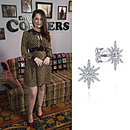 "January 2020 Actress Emma Kenney wearing Gabriel & Co while attending ABC's 2020 Winter TCA ""The Conners"" lunch"