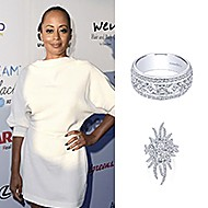 August 2019 Actress Essence Atkins wearing Gabriel & Co while attending the HollyRod Foundation's 21st Annual DesignCare Gala!