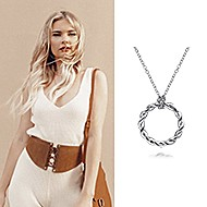 November 2020 Influencers Eva Catherine posting and tagging Gabriel & Co. while featuring the Stronger Together Necklace!