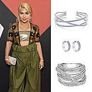 September 2019 Singer and songwriter Hayley Kiyoko wearing Gabriel & Co while attending the 2019 MTV Video Music Awards!