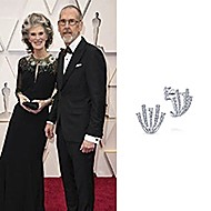 February 2020 Kristine Samuelson wore Gabriel & Co while attending the 92nd Annual Academy Awards!