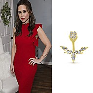 Actress Lacey Chabert wearing Gabriel NY on a episode of Home & Family.