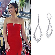 Lauren Zima wearing Gabriel NY during the Golden Globe Awards