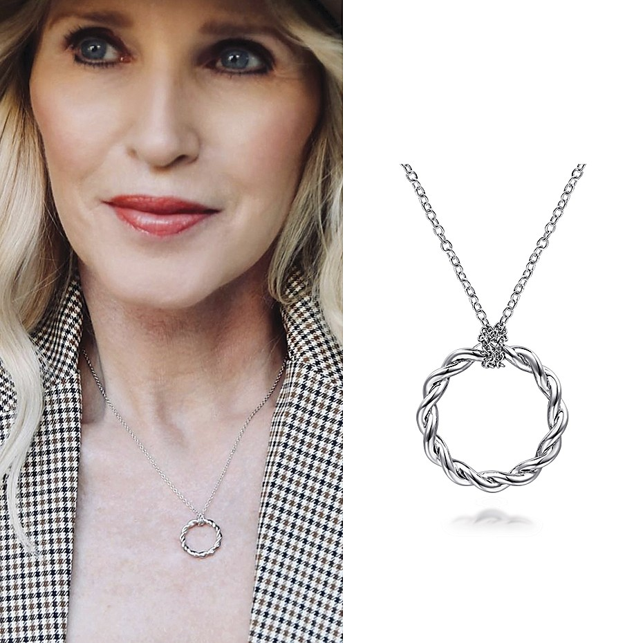 March 2021 Influencer Megan Saustad tagging Gabriel & Co. and featuring the Stronger Together Necklace
