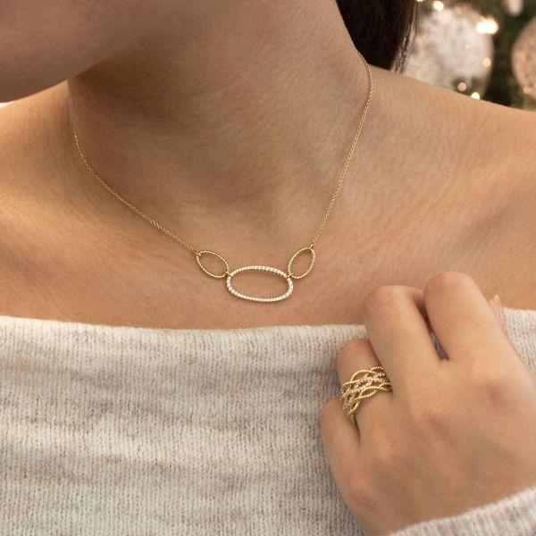 14k Yellow Gold Hampton Fashion Necklace