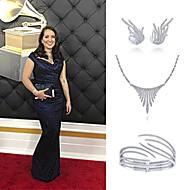 Singer Nicole Zuraitis wearing Gabriel NY to the Grammy Awards