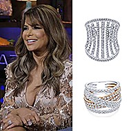 October 2019 Singer Paula Abdul wearing Gabriel & Co during her appearance on Bravo's Watch What Happens Live With Andy Cohen!