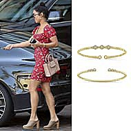 Singer and Actress Vanessa Hudgens wearing Gabriel NY out and about!