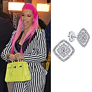 Cardi B wearing Gabriel NY in NYC