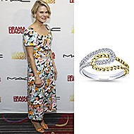 Actress Celia Keenan-Bolger wearing Gabriel & Co to the 85th Annual Drama League Awards in NYC