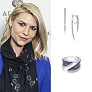 Claire Danes March 2017 Afghan Hands Charity Event