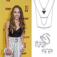 Holly Taylor February 2017 The Americans Season 5 Premiere