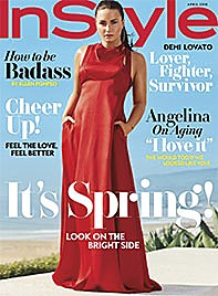 InStyle April 2018