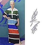 Maye Musk June 2017 CFDA Awards