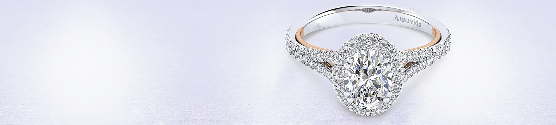 ring rings cut rox oval halo diamond
