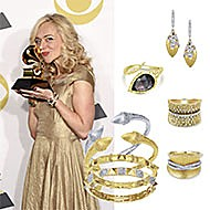 Rachel Bay Jones January 2018 Grammy Awards