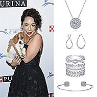 Selenis Leyva December 2017 2017 North Shore Animal League America Gala