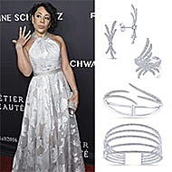 Selenis Leyva November 2016 Gabrielles Angel Foundation Angel Ball