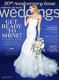 Martha Stewart Weddings January 2015