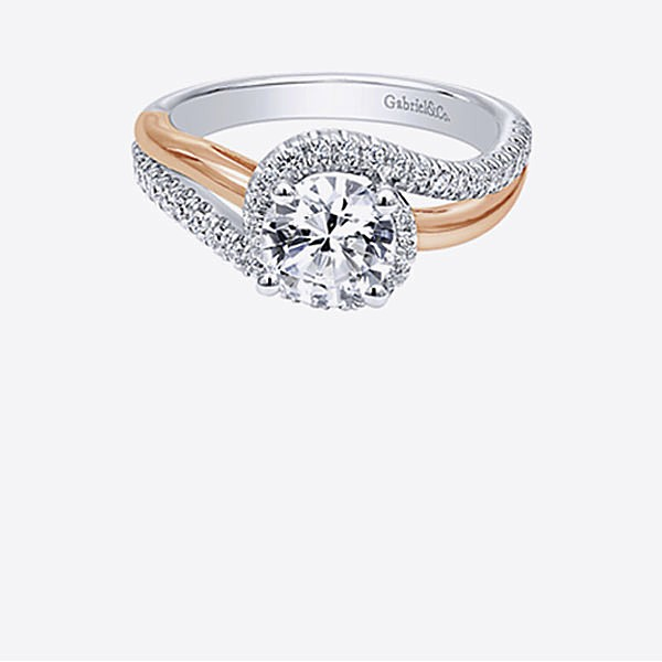Gabriel & Co Engagement Rings Bypass