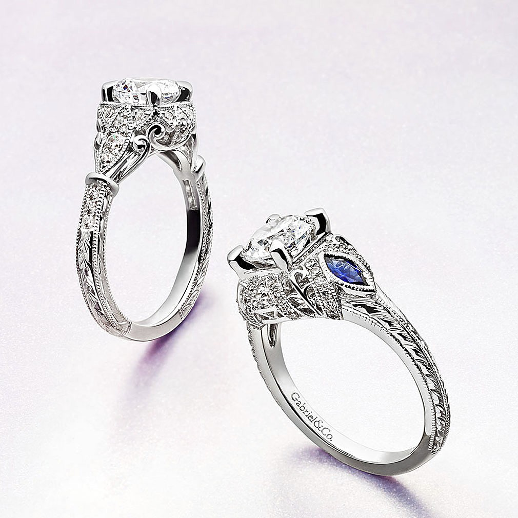 Gabriel & Co Engagement Rings Empire