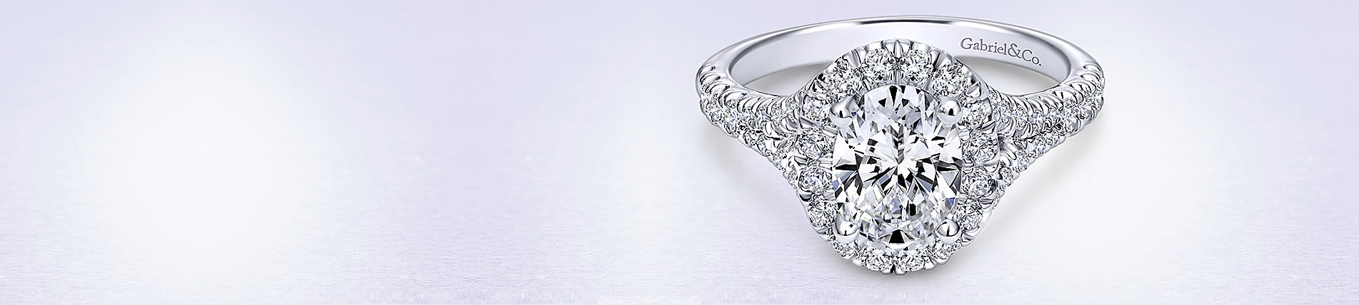 double cut prong oval ring engagement diamond rings