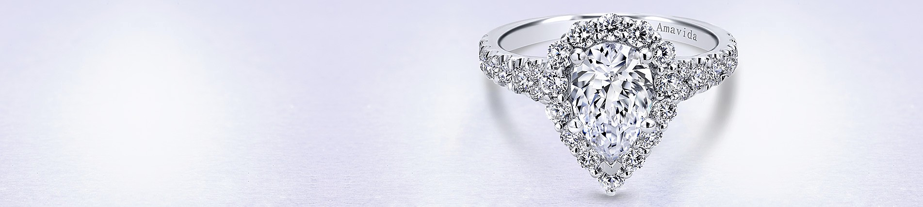single en rings and engagement with birks pear shaped halo cut ring diamond angle band