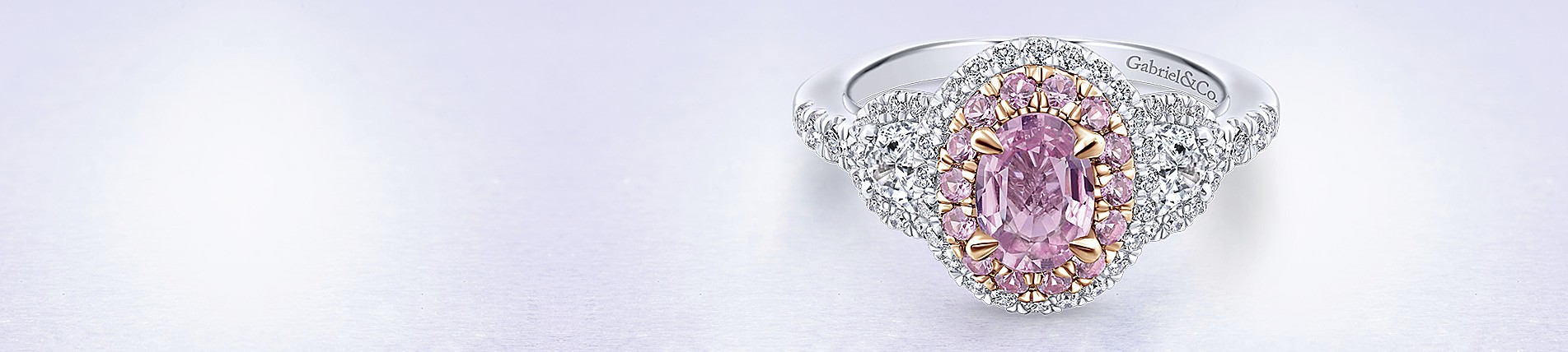 with engagement diamond stones stone yellow colored antique pink rings search images