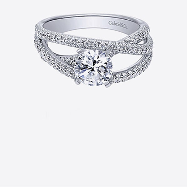 Gabriel & Co Engagement Rings Free From