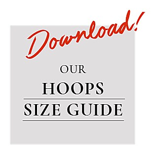Download Our Hoop Size Guide - Gabriel & Co.