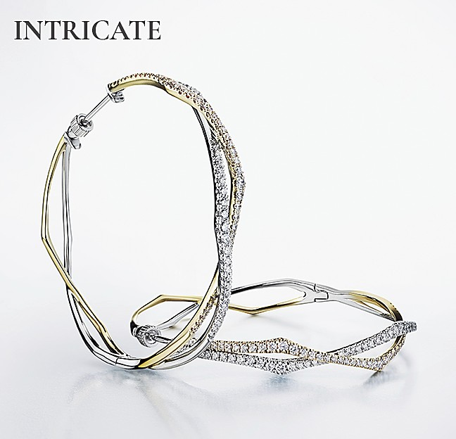 Intricate Hoops - Gabriel & Co.