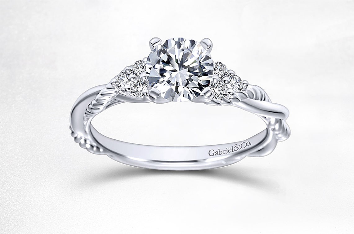 elegant engagement dollar ring of dollars wedding rings