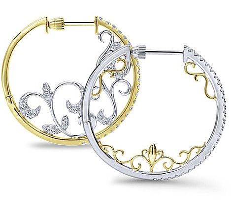 Hoop Earring Intricate