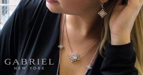 18K Yellow-White Gold  Fashion Necklace