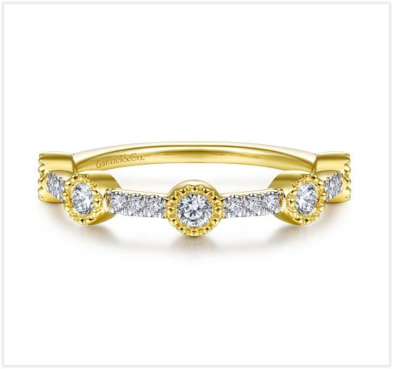 Yellow Gold Diamond Ladies' Ring