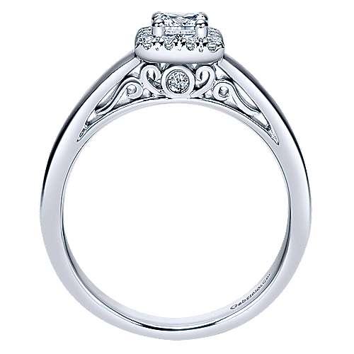 14K & Diamond Eng.Ring         angle 2