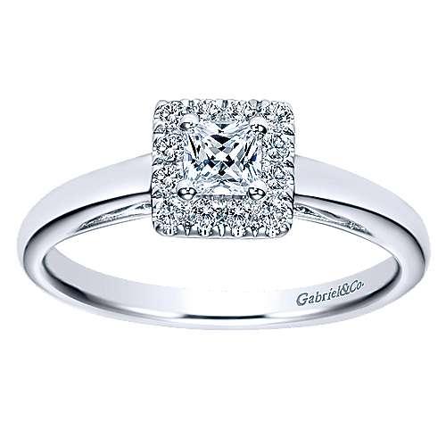 14K & Diamond Eng.Ring         angle 5
