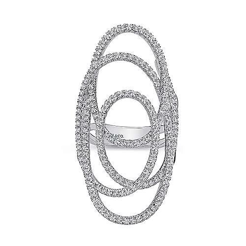 14K W. Gold Dia Ring angle 4
