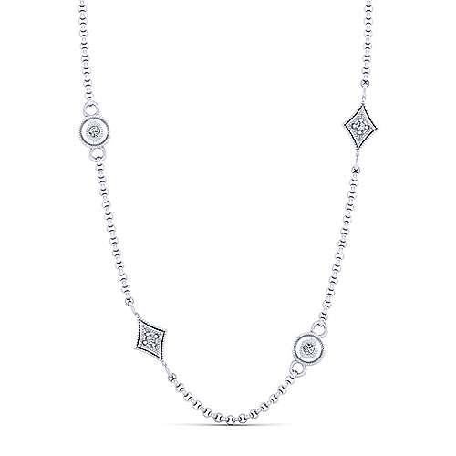 14k White Gold Endless Diamonds Diamond By The Yard