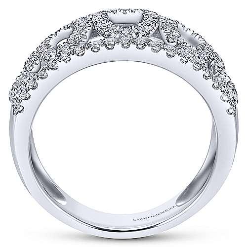 14K W.Gold Dia Ring angle 2