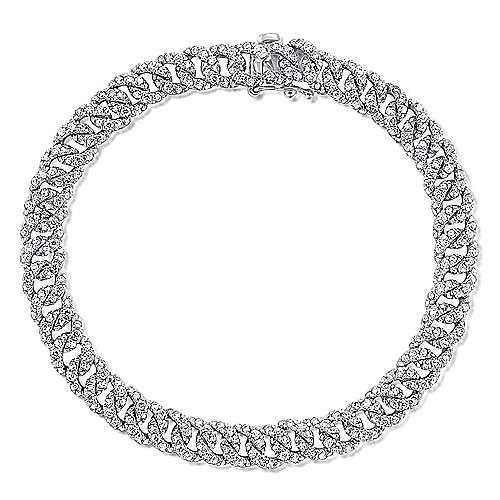 14k White Gold Lusso Diamond Tennis