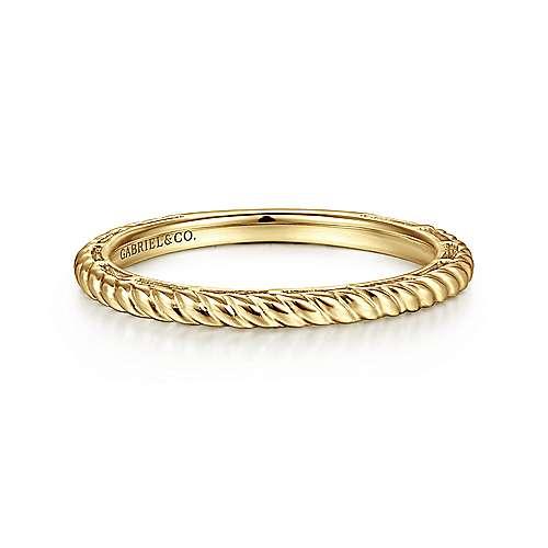 Gabriel - 14K Y.Gold Ladies' Ring