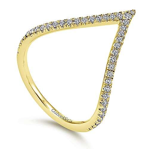 14K Yellow Gold Diamond Ladies