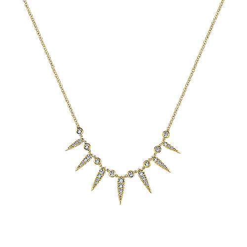 Gabriel - 14K Yellow Gold Fashion Necklace