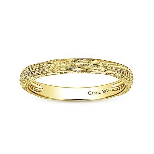14K Yellow Gold Ring angle 4