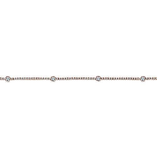 14KP.Gold, Dia,Bracelet        angle 2