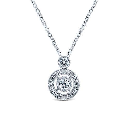 14k White Gold Lusso Diamond Fashion